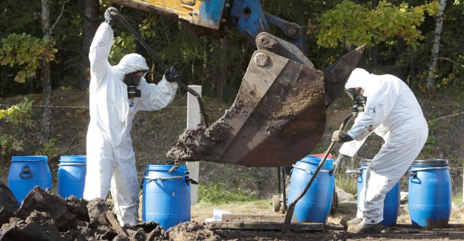 Вывоз и утилизация отработанных растворов солей